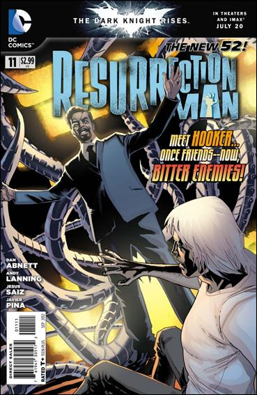Resurrection Man (2011) 11-A by DC