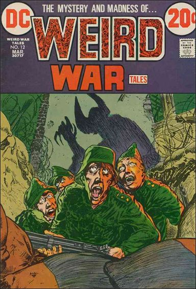 Weird War Tales (1971) 12-A by DC