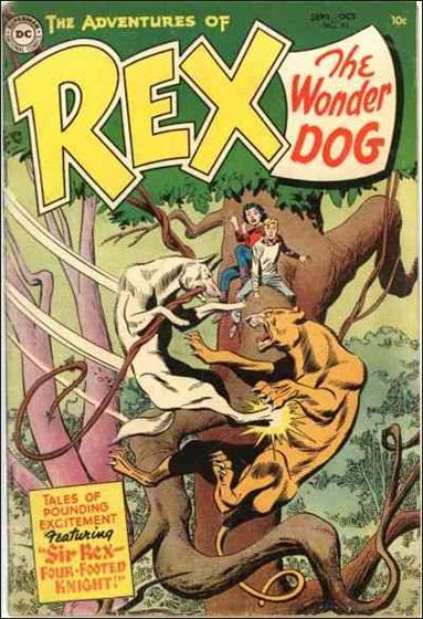 Adventures of Rex the Wonder Dog 17-A by DC