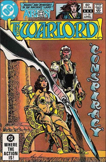 Warlord (1976) 56-A by DC