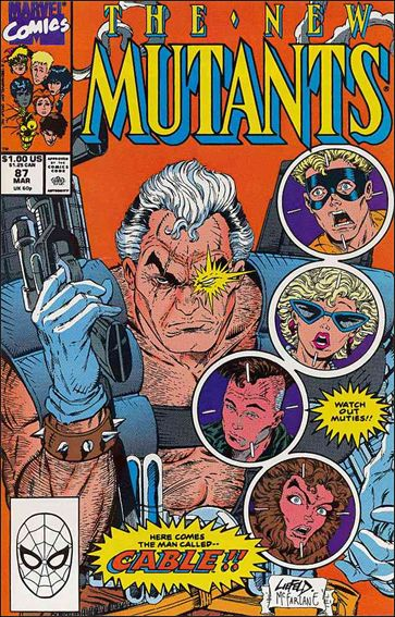 New Mutants (1983) 87-A by Marvel
