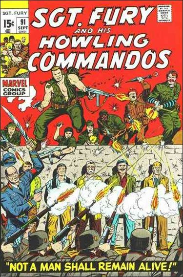 Sgt. Fury and His Howling Commandos 91-A by Marvel