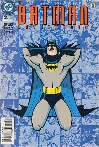 Batman Adventures (1992) 36-A by DC