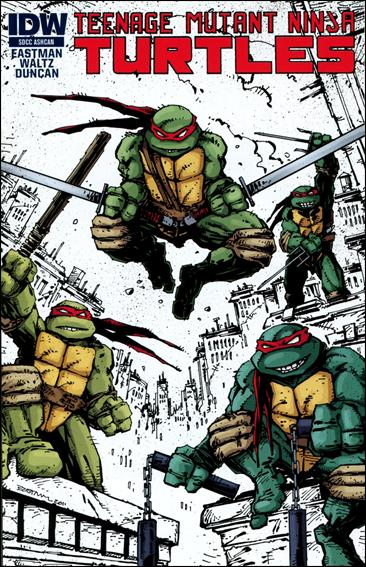 Teenage Mutant Ninja Turtles (2011) SDCC Ashcan-A by IDW