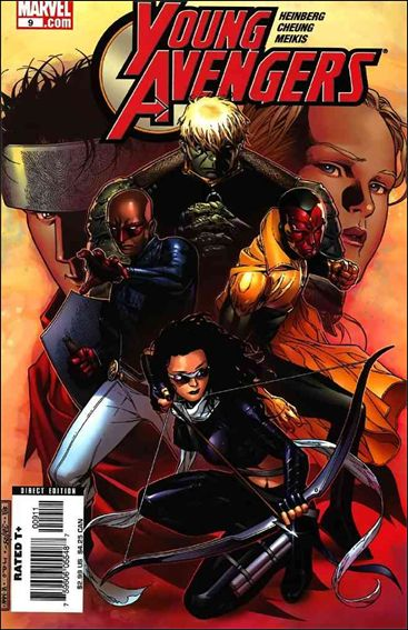 Young Avengers (2005) 9-A by Marvel
