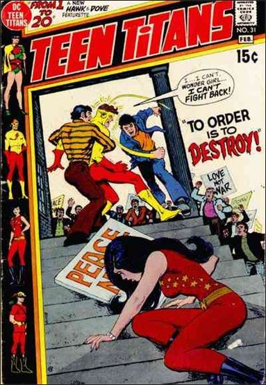 Teen Titans (1966) 31-A by DC