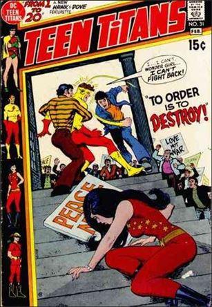 Teen Titans (1966) 31-A