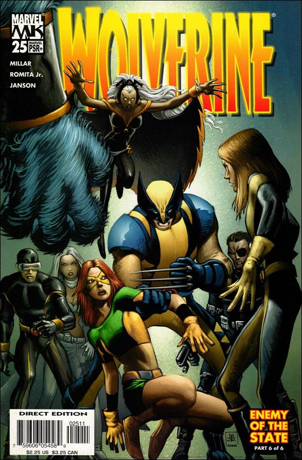 Wolverine (2003)  25-A by Marvel