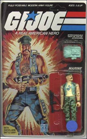 "G.I. Joe: A Real American Hero 3 3/4"" Basic Action Figures Gung-Ho (Marine) by Hasbro"