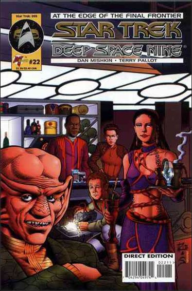 Star Trek: Deep Space Nine (1993) 22-A by Malibu