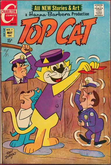 Top Cat (1970) 4-A by Charlton