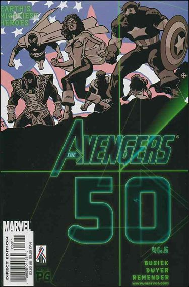 Avengers (1998) 50-A by Marvel