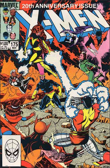 Uncanny X-Men (1981) 175-A by Marvel