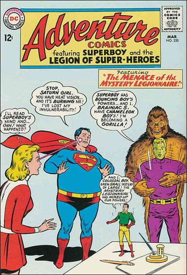 Adventure Comics (1938) 330-A by DC