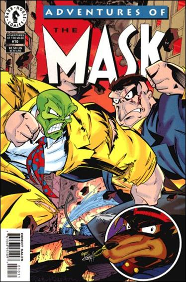 Adventures of the Mask 10-A by Dark Horse