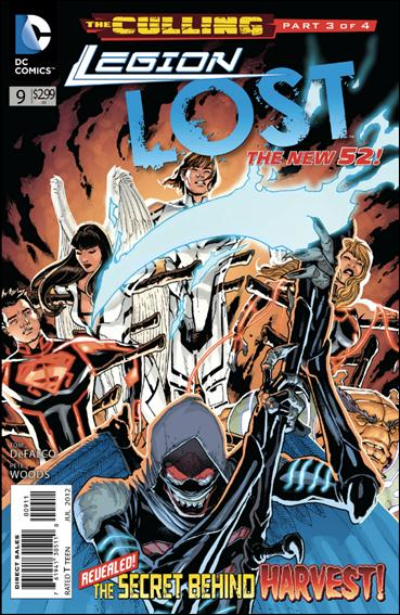 Legion Lost (2011) 9-A by DC