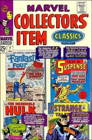 Marvel Collectors' Item Classics 7-A