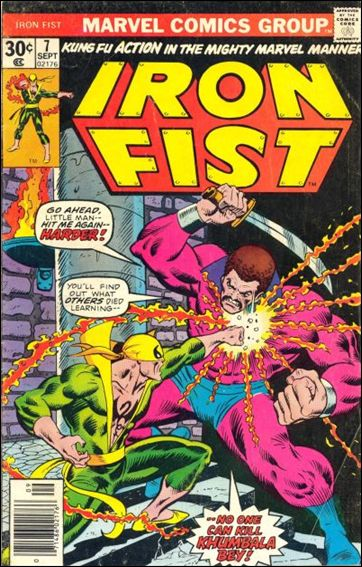 Iron Fist (1975) 7-A by Marvel