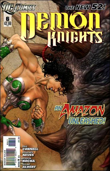 Demon Knights 6-A by DC