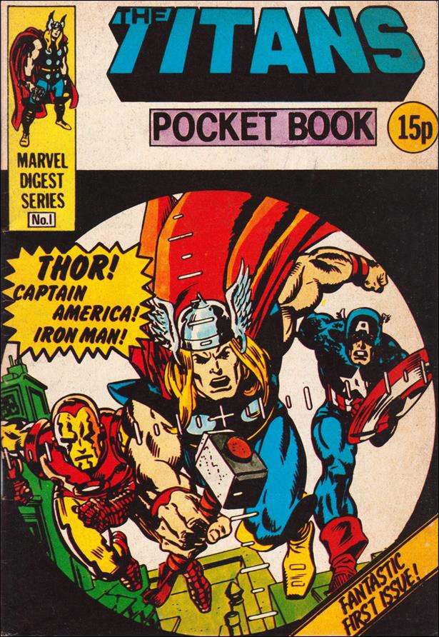 Titans Pocket Book (UK) 1-A by Marvel UK