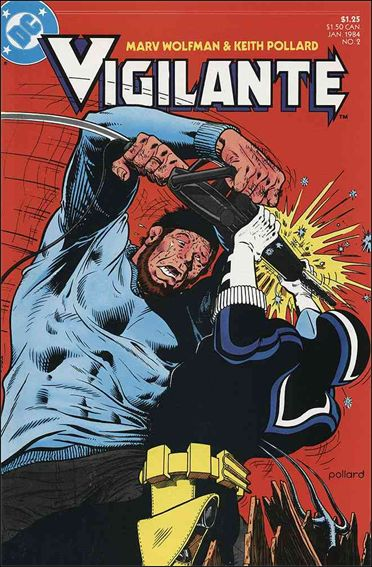Vigilante (1983) 2-A by DC