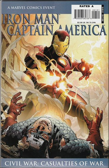 Iron Man/Captain America: Casualties of War 1-A by Marvel