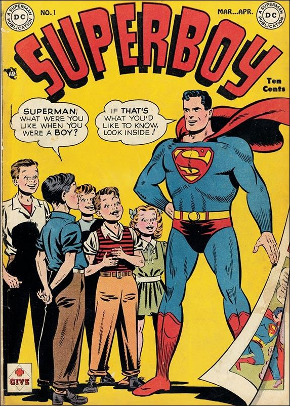 Superboy (1949) 1-A by DC