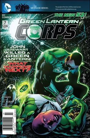 Green Lantern Corps (2011) 7-A