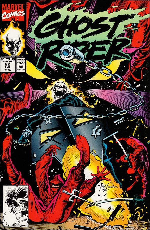 Ghost Rider (1990) 22-A by Marvel