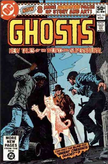 Ghosts (1971) 94-A by DC