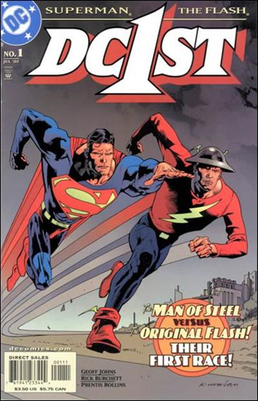 DC First: Flash/Superman 1-A by DC