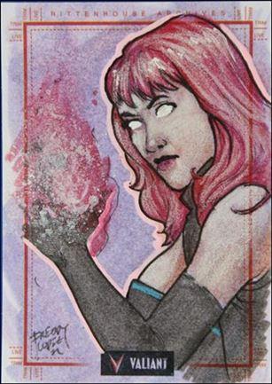 2013 Valiant Comics Preview Trading Card Set (Sketch Card Subset) AL-04-A