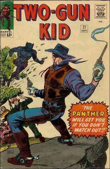 Two-Gun Kid 77-A by Marvel