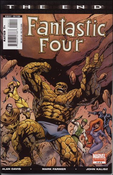 Fantastic Four: The End 4-A by Marvel