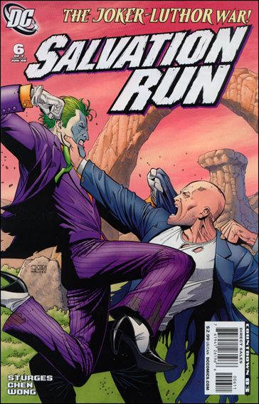 Salvation Run 6-A by DC