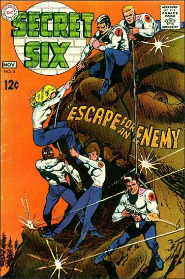 Secret Six (1968) 4-A by DC