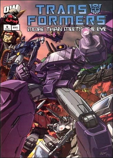 Transformers: More Than Meets the Eye (2003) 5-A by Dreamwave