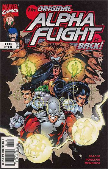 Alpha Flight (1997) 19-A by Marvel