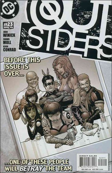 Outsiders (2003) 23-A by DC