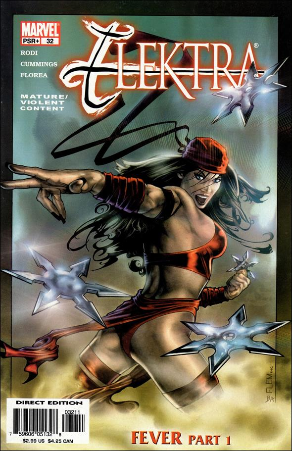 Elektra (2001) 32-A by Marvel