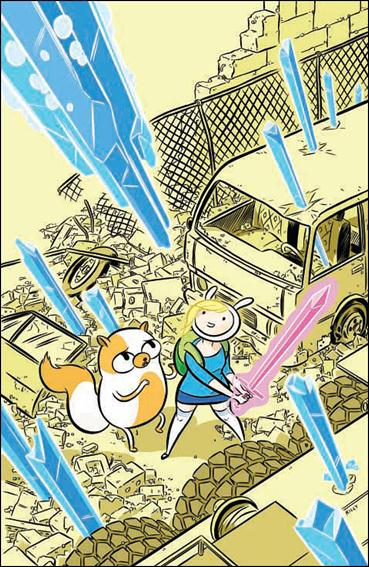 Adventure Time with Fionna and Cake 1-D by Kaboom!