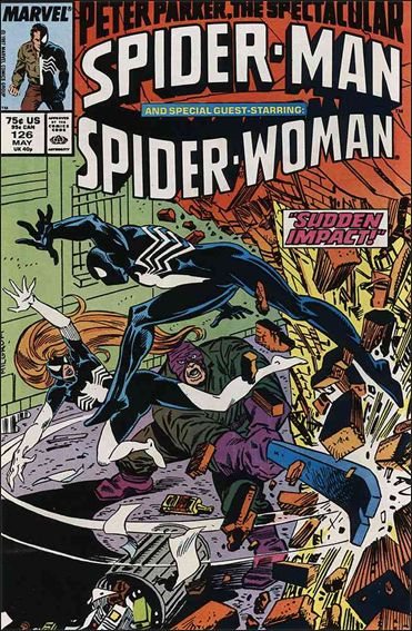 Spectacular Spider-Man (1976) 126-A by Marvel