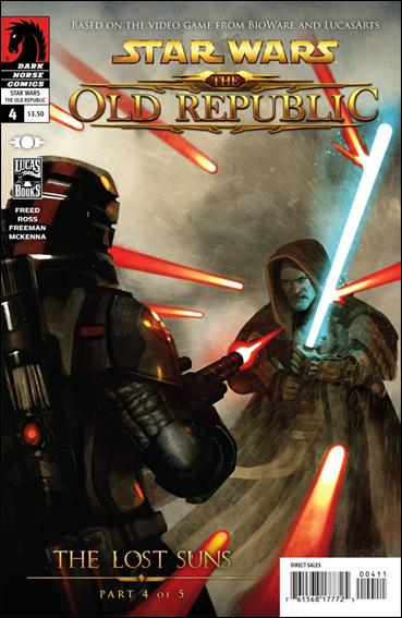 Star Wars: The Old Republic - The Lost Suns 4-A by Dark Horse