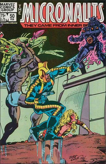 Micronauts (1979) 50-A by Marvel