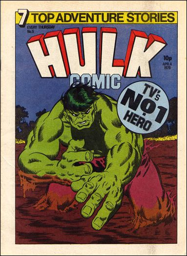 Hulk Comic (UK) 5-A by Marvel UK