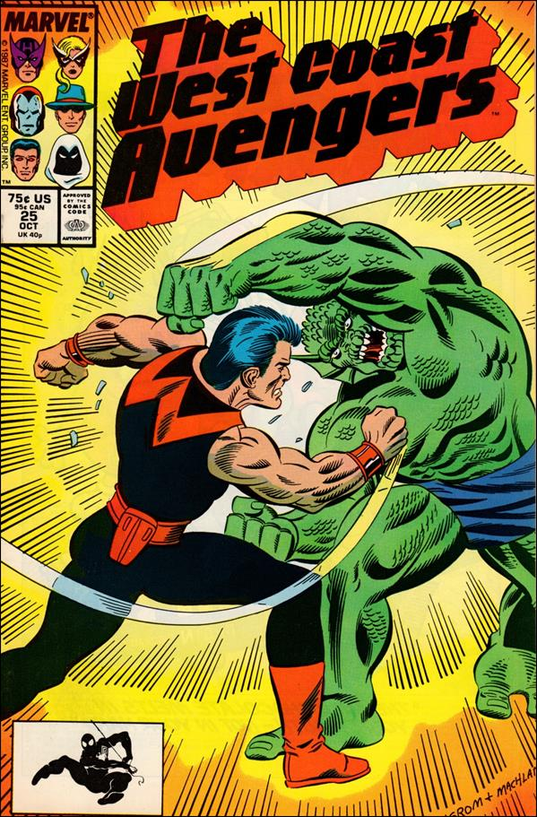 West Coast Avengers (1985) 25-A by Marvel