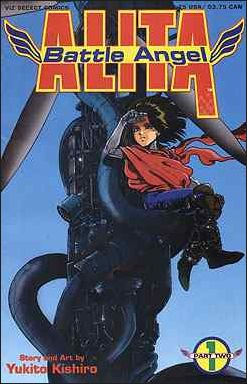 Battle Angel Alita Part 2 1-A by Viz