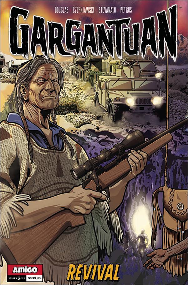 Gargantuan 3-A by Amigo Comics