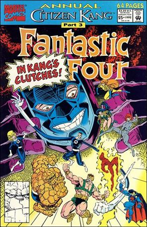 Fantastic Four Annual (1963) 25-A