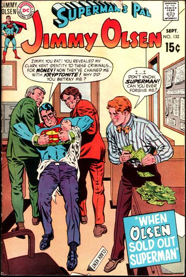 Superman's Pal Jimmy Olsen (1954) 132-A by DC
